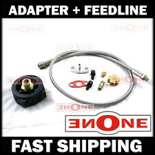 Turbo Oil Feed Adapter + Line Honda Civic D15 D16 B16