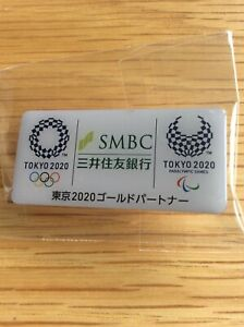 SMBC Tokyo 2020 olympic pin