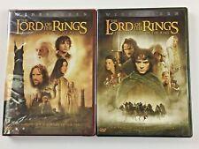 The Lord of the Rings: LOT of 2: The Two Towers and The Fellowship of the Ring