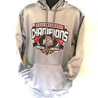 Ohio State Buckeyes Sweatshirt Hoodie 2014 National Champions Sz M EUC Football