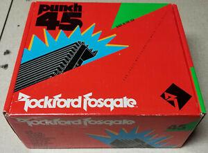 Rockford Fosgate Punch 45 Amplifier