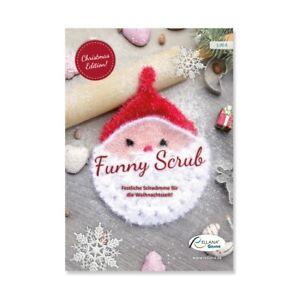 """Anleitung Flyer """"Funny Scrub Weihnachten"""" Inhalt: 5 Weihnachtsmotive"""