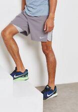 "Nike Men's 7"" Challenger 2in1 Shorts Sz Meduim (Grey)856832 032"