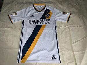 NWT Los Angeles Galaxy  Adidas Jersey 2018 S MLS