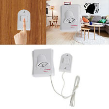 Easy Installed White Wired Electric Push Button Door Bell doorbell Button Chime