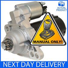 FITS AUDI A3 MK2 1.9 TDI DIESEL MANUAL 2004-2010 NEW STARTER MOTOR  BKC BLS BXE