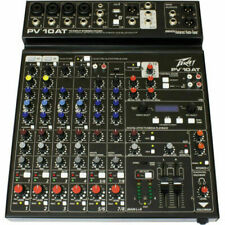 Peavey PV10AT 10 Channel Non-Powered Mixer open box