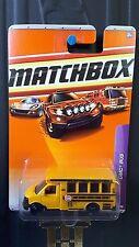 2010 MATCHBOX GMC SCHOOL BUS
