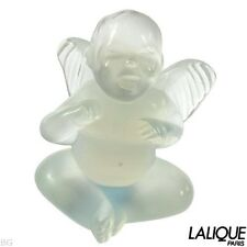 Authentic LALIQUE Motif Ange Malizioso Opale Collection