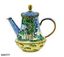 KELVIN CHEN Enamel Copper Mini Hand Paint Copper Teapot - Poplars by MONET