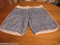 Men's board shorts 28 Billabong platinum PX 4 hydrostretch white blue surf swim
