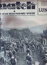 1936 MATCH L'INTRAN  n°526  SPECIAL TOUR DE FRANCE 1936  CONAN MAGNE BERTOCCO