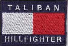 ISAF. AFGHANISTAN. MORALE PATCH. TALIBAN HILLFIGHTER. VLCRO. FREE SHIPPING