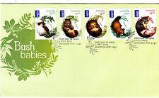2013 Bush Babies (International Postage) FDC -  Homebush NSW 2140 PMK