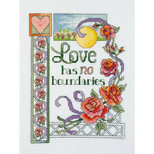 Janlynn Cross Stitch Kit - Love Has No Boundaries