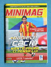 MINIMAG 2008-2009 N. 291 - DANIELE CACIA - LECCE