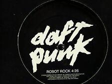 """MAXI 12"""" Promo DAFT PUNK Robot rock 57395 8709356 Mono face"""