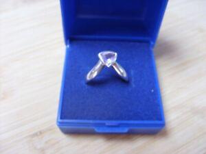 Kit Heath .925 Solid Sterling Silver Art Nouveau Amethyst Ring