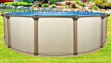 "12x54"" Melenia Round Above Ground Swimming Pool with 25 Gauge Liner"