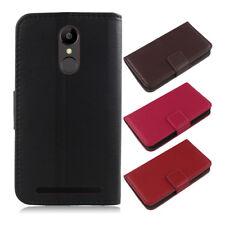 Per TP-Link Smartphone-Premium genuino vera Pelle Book Portafoglio Cover Custodia Flip
