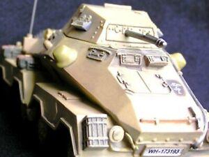 WOW EXTREMELY RARE Puma SdKfz 232 8x4 Tobruk 1941 LE200 BNIB 1:30 New Model Army