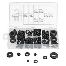 180 pcs Harness Rubber Assortment Grommet Kit Set Firewall Hole Electrical