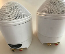 Mirage- Nanosat Satellite Loudspeakers (2) White