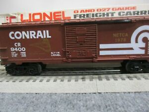 "Lionel #9400 Conrail ""Netca Gold Overstamped"" Boxcar 1 of 12 produced HTF"