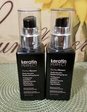 2 KeratinPerfect PerfectRenew Daily Keratin Replenishing Smoothing Spray 3.4 oz