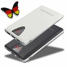 Externes 100000mah Mobile Powerbank LCD 3USB 2LED Akku Ladegerät Für Smart Phone