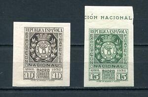 1936.ESPAÑA.EDIFIL 727/28 .nuevos Leve Stamp Hinges (MH) .catalogo