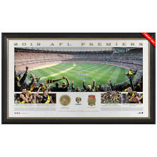 Richmond 2019 AFL Premiers Official Panoramic MCG Print Framed Limited Edition