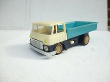 CHINA ME-735 HINO LOW SIDE TRUCK RC BATTERY TIN TOY CAR/ WITH CHAUFFEUR RARE!!