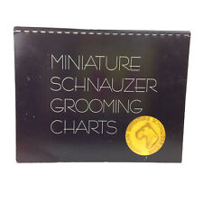 Amsc Miniature Schnauzer Grooming Charts Book Show Standard