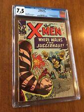 X-Men #13 CGC 7.5 WHITE PAGES Marvel 1965 Juggernaut Silver The Uncanny XMEN 13
