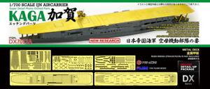 AKA PE 1/700 IJN Aircraft carrier KAGA metal deck for Fujimi DX7023A
