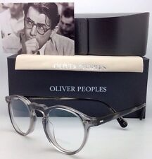New OLIVER PEOPLES Eyeglasses GREGORY PECK OV 5186 1484 45-23 Round Workman Grey