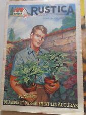 RUSTICA N° 3 - 1956 Plantes de jardin et d'appartement : les AUCUBAS