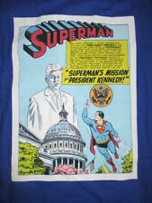 SUPERMAN's MISSION for JOHN F. KENNEDY Presidential Library & Museum (LG) Shirt