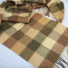 Sale New Vintage Mans Cashmere Wool Warm Striped Scarves Scarf GIFT 032