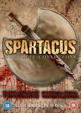 Spartacus: The Complete Collection DVD (2013) Andy Whitfield cert 18 14 discs