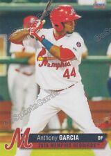 2016 Memphis Redbirds Anthony Garcia RC Rookie St Louis Cardinals PR