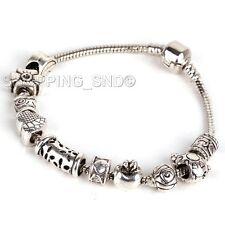 80 X Tibetan Silver Tone Spacer Beads Fit European Charms Bracelet Daisy Murano