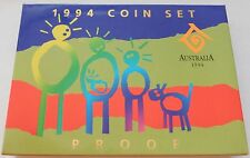 1994 International Year of the Family Six Coin Set ~ Proof