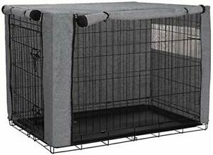 """30"""" Dog Crate Cover, Durable Windproof Pet Kennel Cover Provided for Wire Cage"""