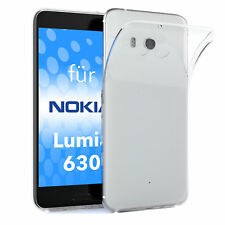 Krusell para Nokia/Microsoft Lumia 630 Dual SIM TPU silicona funda transparente