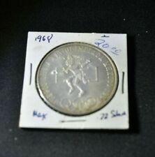 1968 Mexico Olympics 25 Pesos Silver Coin 0.720 Circulated