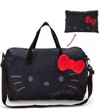 Sanrio Hello Kitty Boston Bag Black NEW Authentic Duffel Bag