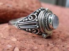 Anelli di lusso in argento sterling Pietra di luna, da 925 parti su 1000