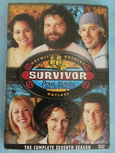 SURVIVOR PEARL ISLANDS THE COMPLETE SEVENTH SEASON DVD TV JEFF PROBST NEW SEALED